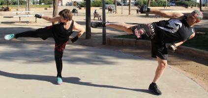 Combat Santi y Marisa 2